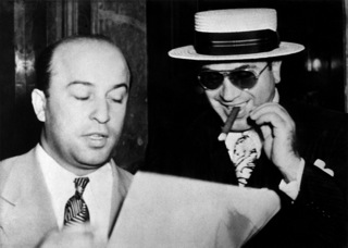 Al Capone and Abe Teitelbaum, Attorney